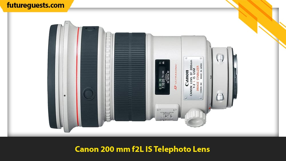 best lenses for sports photography Canon 200 mm f2L IS Telephoto Lens