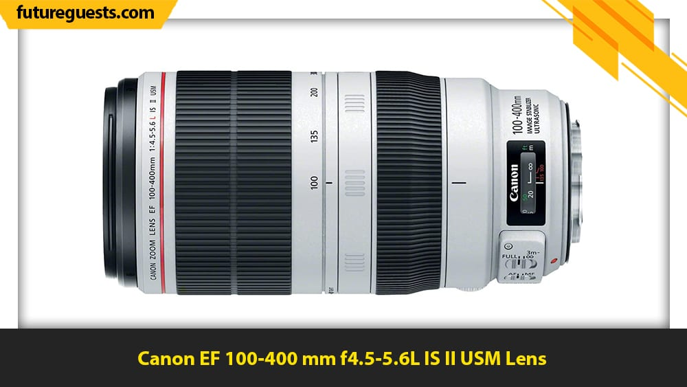 best lenses for sports photography Canon EF 100-400 mm f4.5-5.6L IS II USM Lens