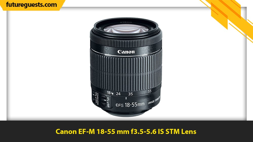 best lenses for sports photography Canon EF-M 18-55 mm f3.5-5.6 IS STM Lens