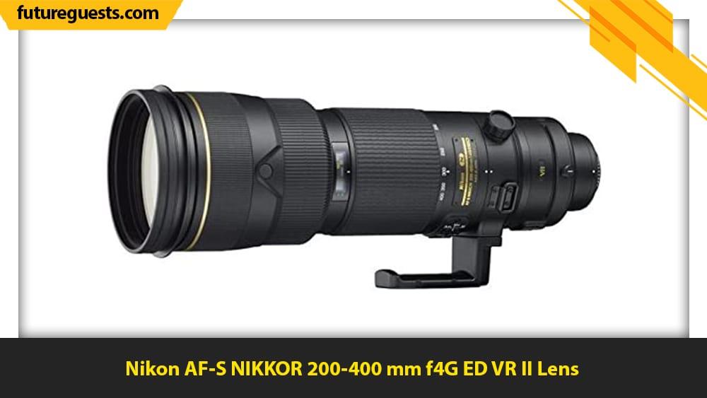 best lenses for sports photography Nikon AF-S NIKKOR 200-400 mm f4G ED VR II Lens