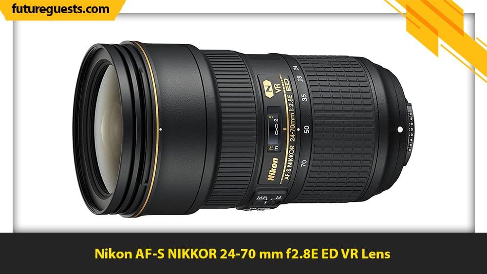 best lenses for sports photography Nikon AF-S NIKKOR 24-70 mm f2.8E ED VR Lens