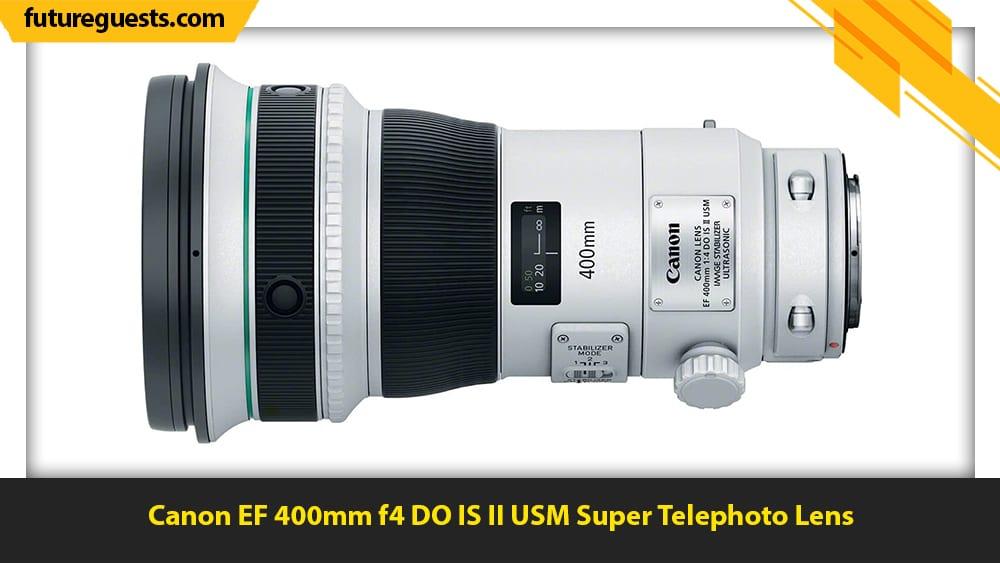 best lenses for wildlife photography Canon EF 400mm f4 DO IS II USM Super Telephoto Lens