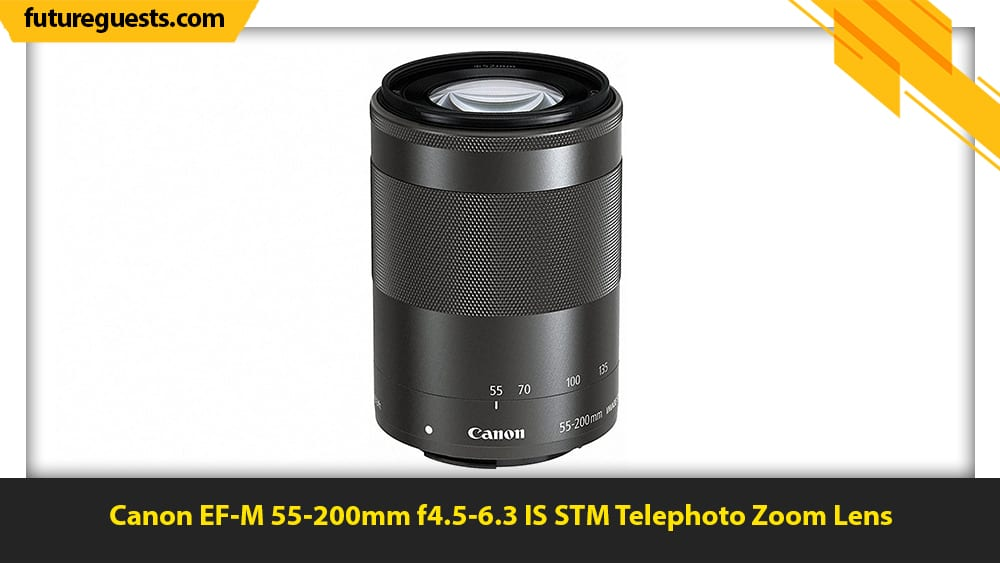best lenses for wildlife photography Canon EF-M 55-200mm f4.5-6.3 IS STM Telephoto Zoom Lens