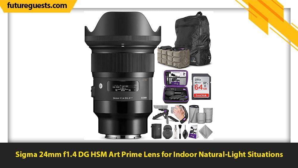 best car photography lenses Sigma 24mm f1.4 DG HSM Art Prime Lens