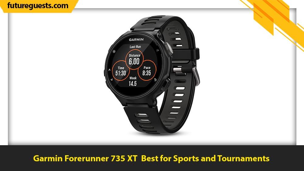 best clip on fitness trackers Garmin Forerunner 735 XT