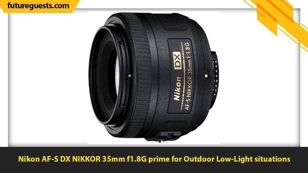 best lenses for car photography Nikon AF-S DX NIKKOR 35mm f1.8G prime