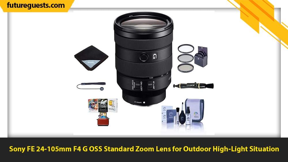 best lenses for car photography Sony FE 24-105mm F4 G OSS Standard Zoom Lens