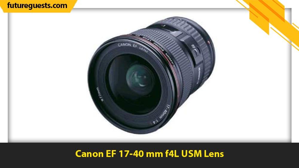 best lenses for real estate photography Canon EF 17-40 mm f4L USM Lens