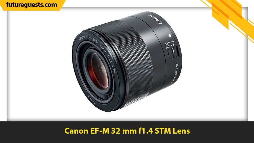 best lenses for real estate photography Canon EF-M 32 mm f1.4 STM Lens