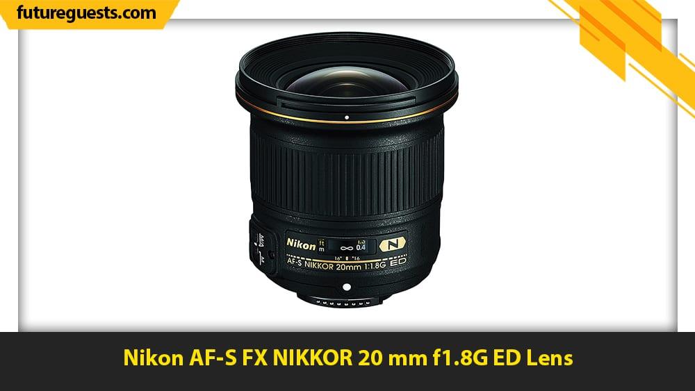 best lenses for real estate photography Nikon AF-S FX NIKKOR 20 mm f1.8G ED Lens