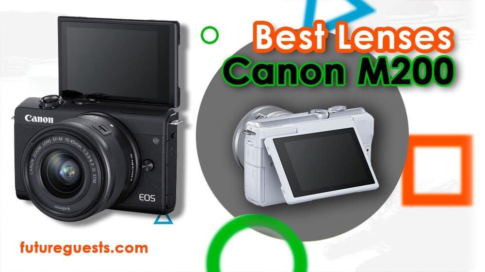 Best lenses for Canon EOS M200