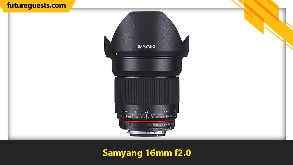 best canon eos m200 lenses Samyang 16mm f2.0
