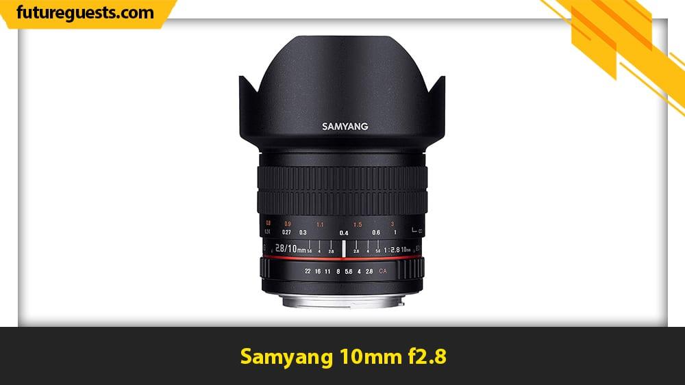 best canon eos m6 mark II lenses Samyang 10mm f2.8