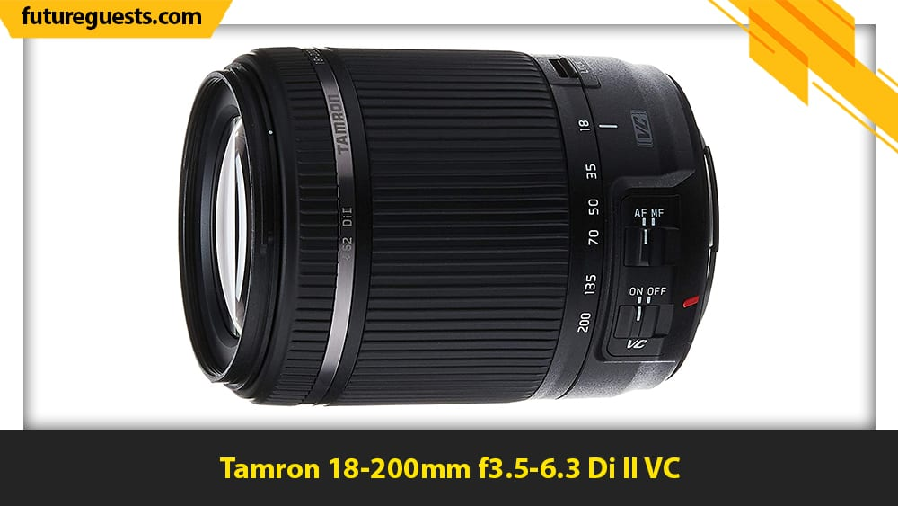 best canon eos m6 mark II lenses Tamron 18-200mm f3.5-6.3 Di II VC