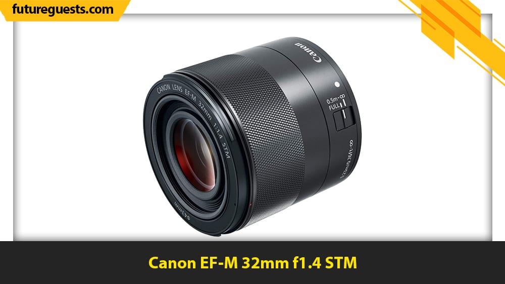 best lenses for canon eos m200 Canon EF-M 32mm f1.4 STM