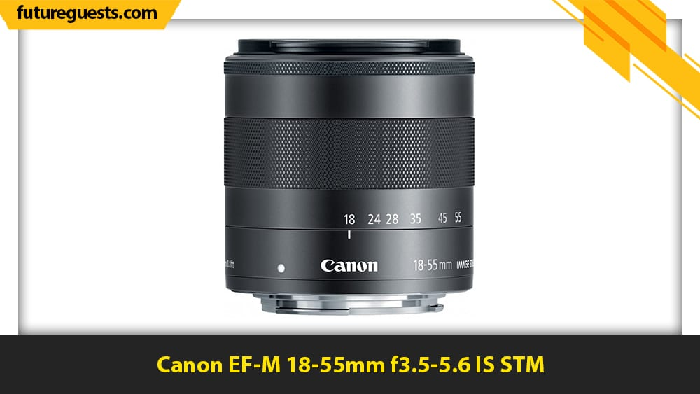 best lenses for canon eos m6 mark II Canon EF-M 18-55mm f3.5-5.6 IS STM