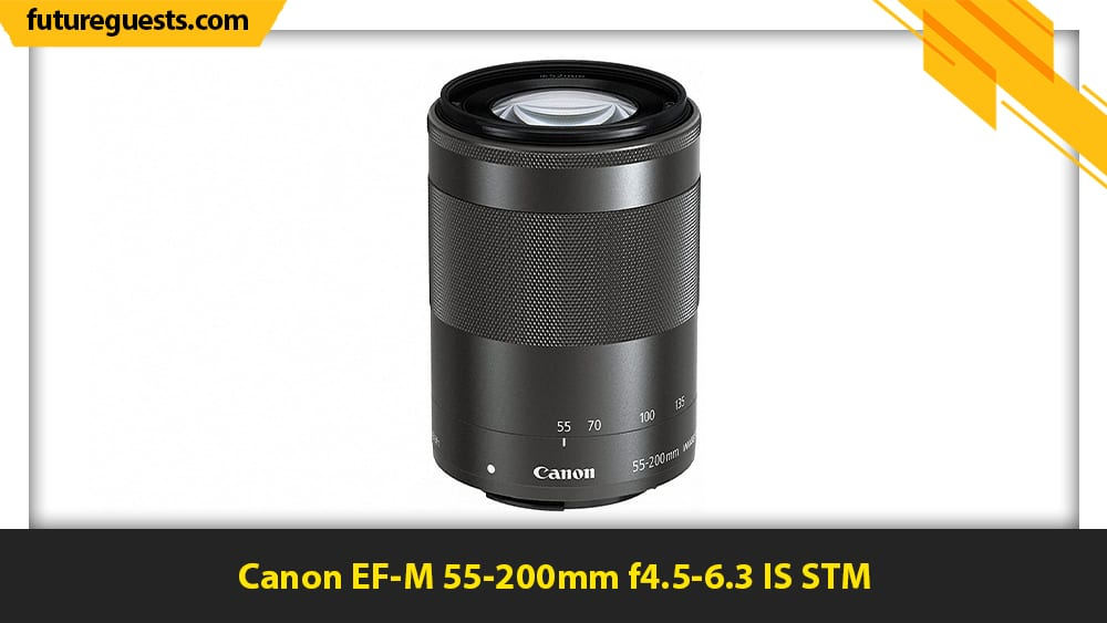 best lenses for canon eos m6 mark II Canon EF-M 55-200mm f4.5-6.3 IS STM