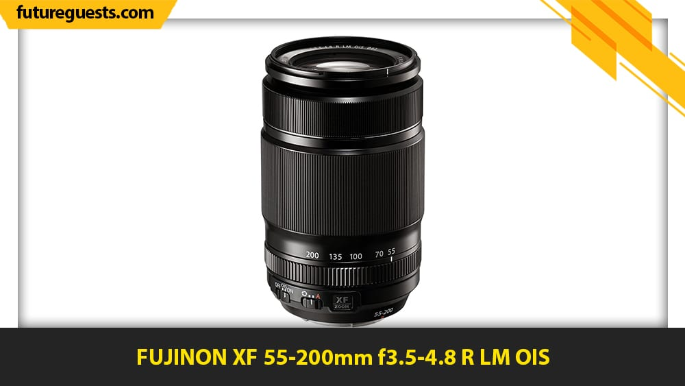 best lenses for fujifilm x-t200 FUJINON XF 55-200mm f3.5-4.8 R LM OIS
