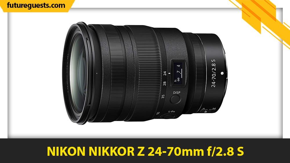 best nikon z50 lenses NIKON NIKKOR Z 24-70mm f2.8 S