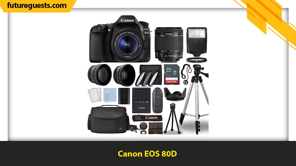 Best Cameras for Filmmaking on a Budget Canon EOS 80D