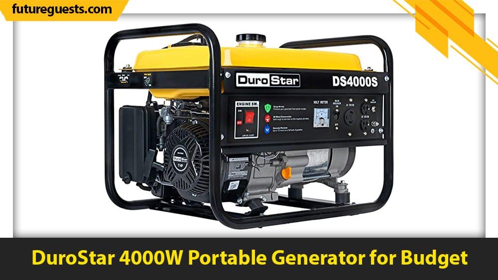 best apartment generators DuroStar 4000W Portable Generator