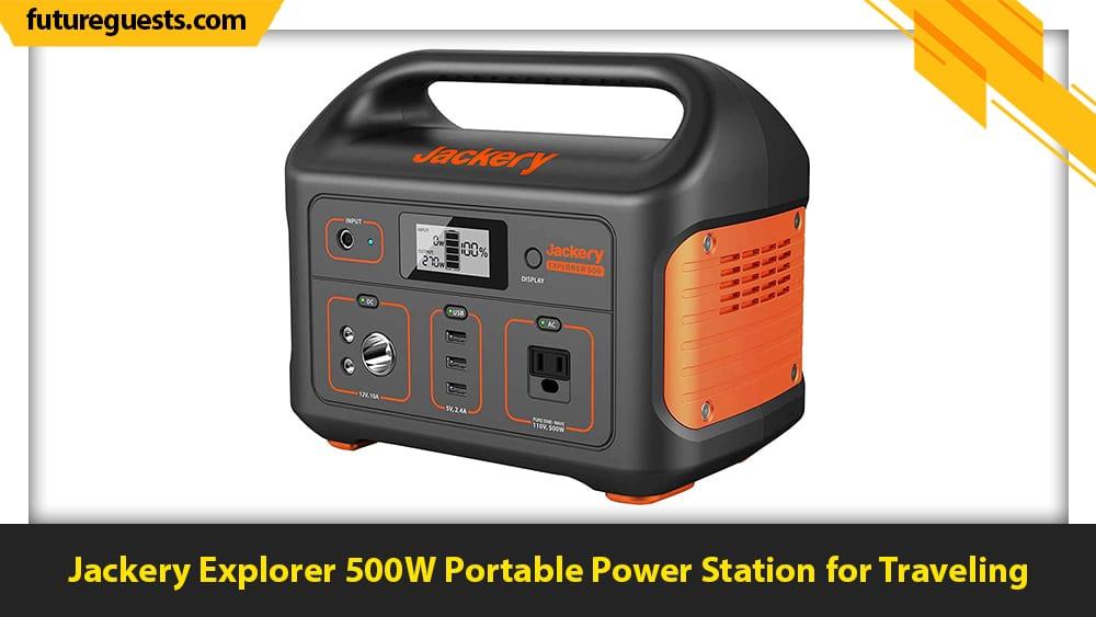 best apartment generators Jackery Explorer 500W Portable Power Station