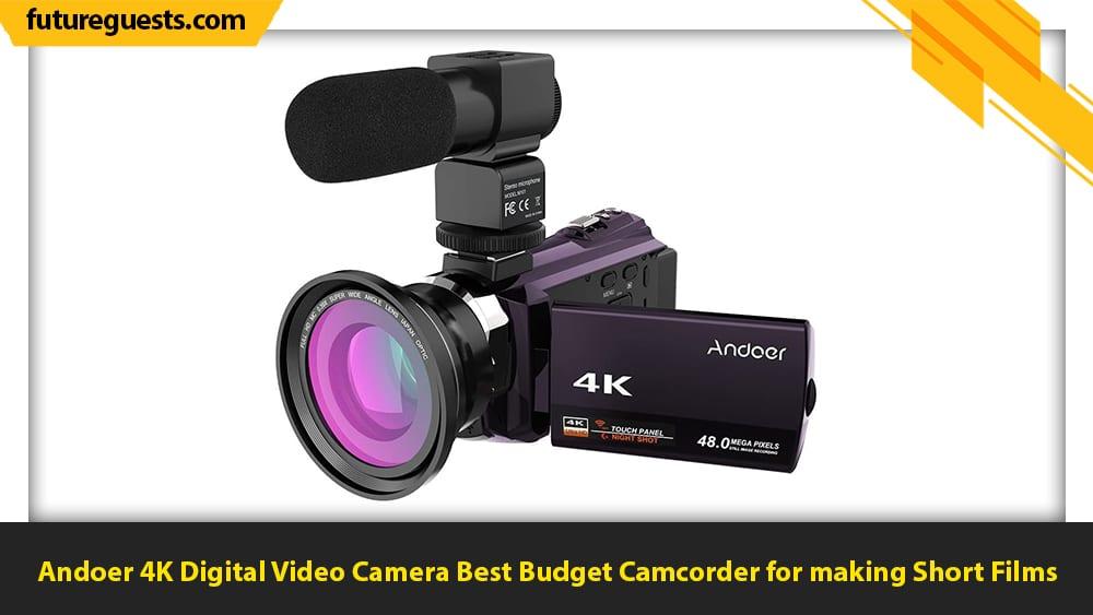 best cameras for short films Andoer 4K Digital Video Camera