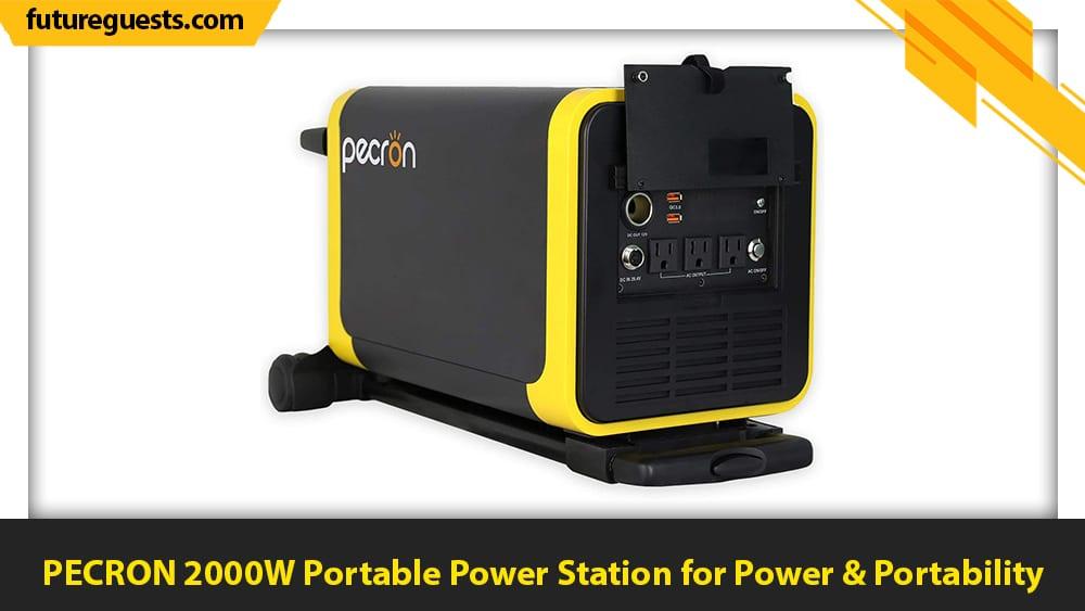 best generators for apartments PECRON 2000W Portable Power Station