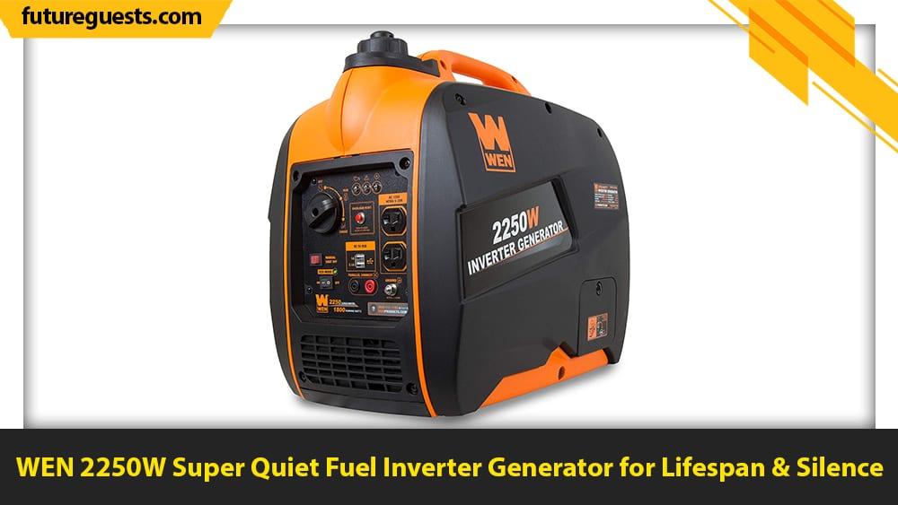 best generators for apartments WEN 2250W Super Quiet Fuel Inverter Generator