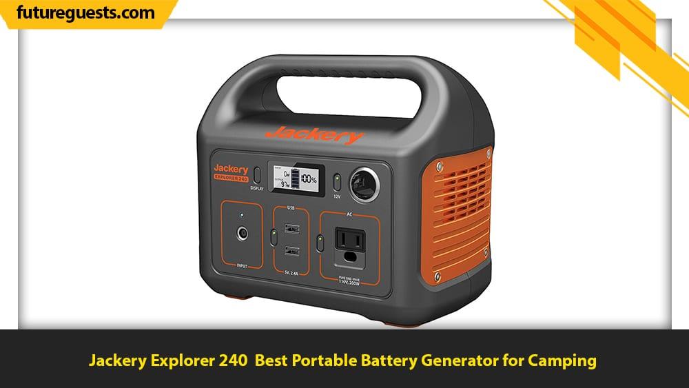 best portable battery generator Jackery Explorer 240