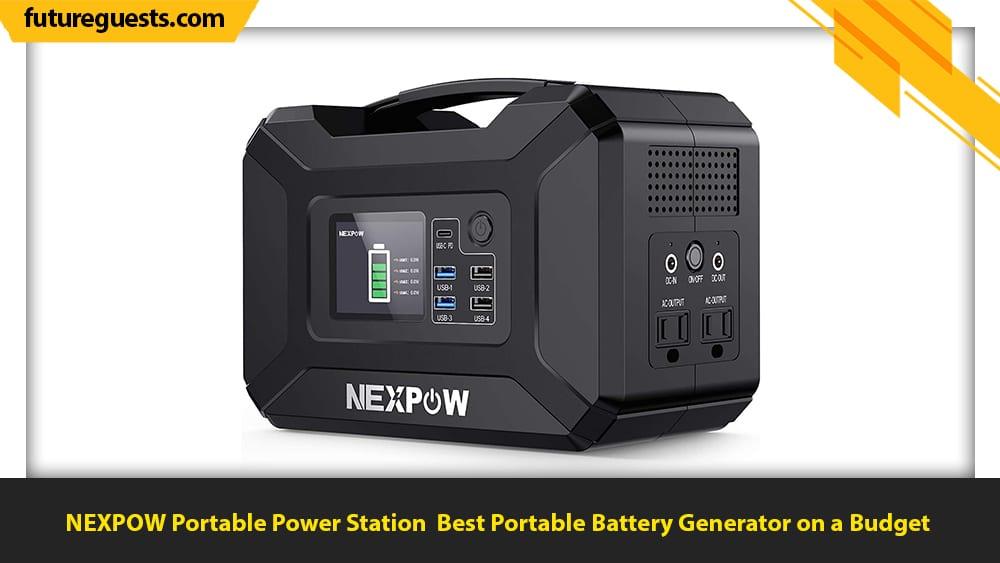 best portable battery generator NEXPOW Portable Power Station