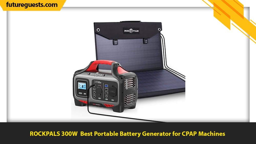 best portable battery generator ROCKPALS 300W