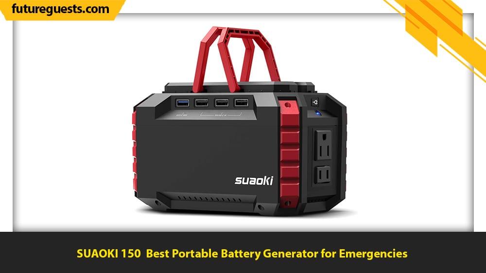 best portable battery generator SUAOKI 150