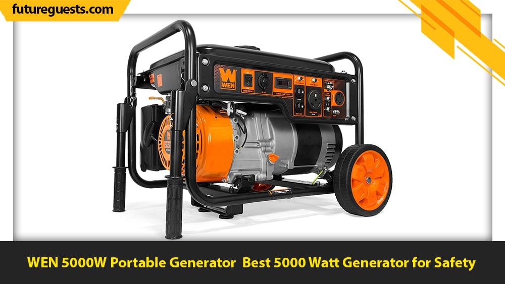 best 5000 watt generator WEN 5000W Portable Generator
