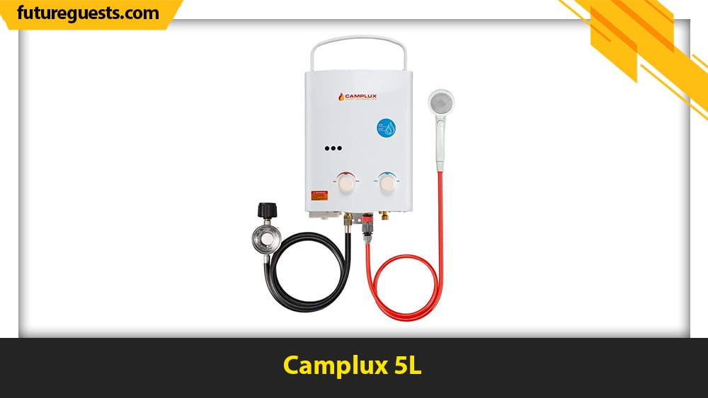 best outdoor tankless water heaters Camplux 5L
