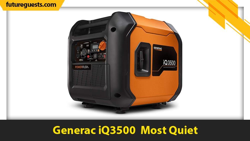 best sump pump generator Generac iQ3500