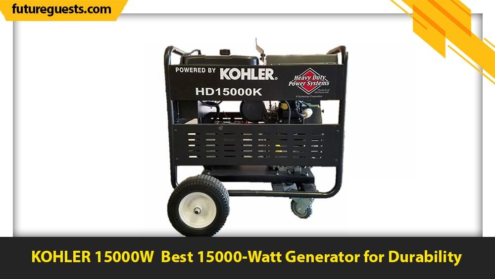 best 15000 watt generator KOHLER 15000W