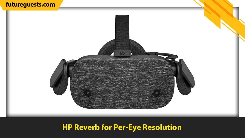 best flight sim vr headset HP Reverb