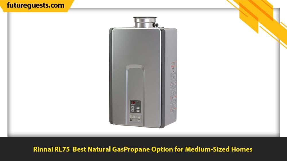 best indoor tankless water heater Rinnai RL75