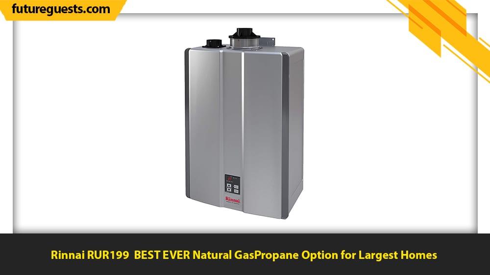 best indoor tankless water heater Rinnai RUR199
