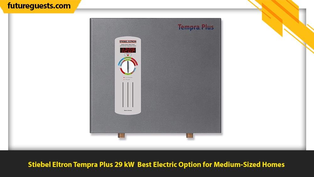 best indoor tankless water heater Stiebel Eltron Tempra Plus 29 kW