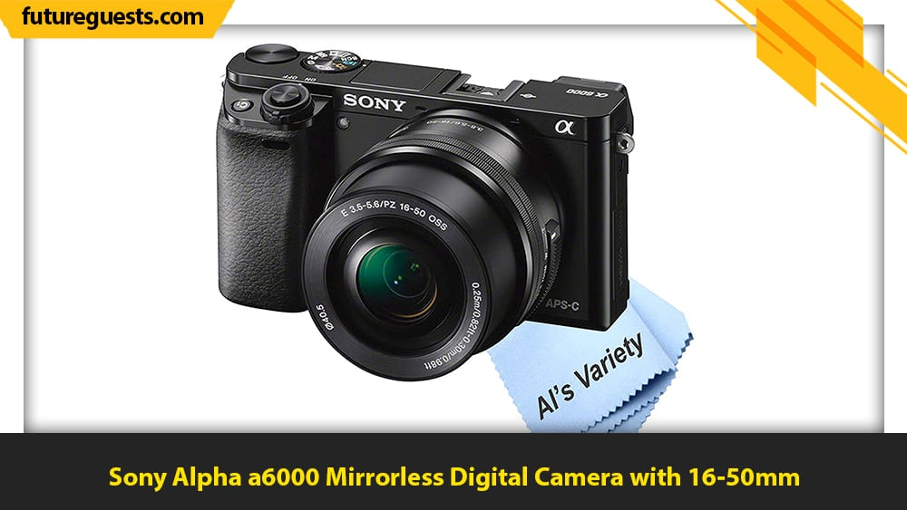 best video camera for musicians Sony Alpha a6000 Mirrorless Digital Camera with 16-50mm