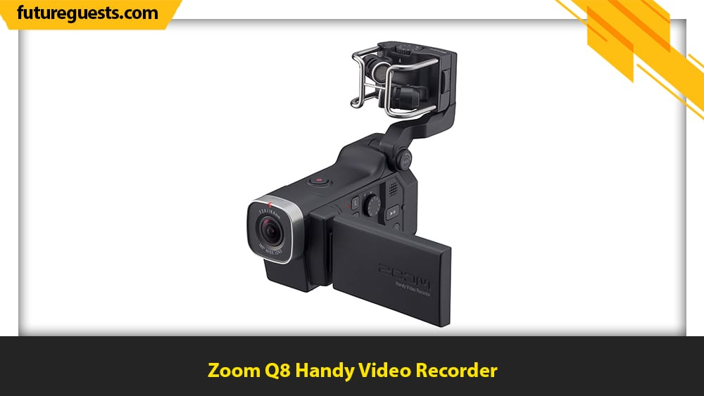best video camera for musicians Zoom Q8 Handy Video Recorder
