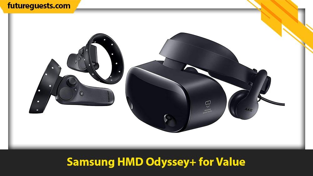 best vr heasets for sim racing Samsung HMD Odyssey+