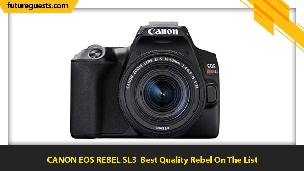 best car photography cameras CANON EOS REBEL SL3t