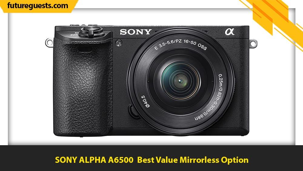 best car photography cameras SONY ALPHA A6500