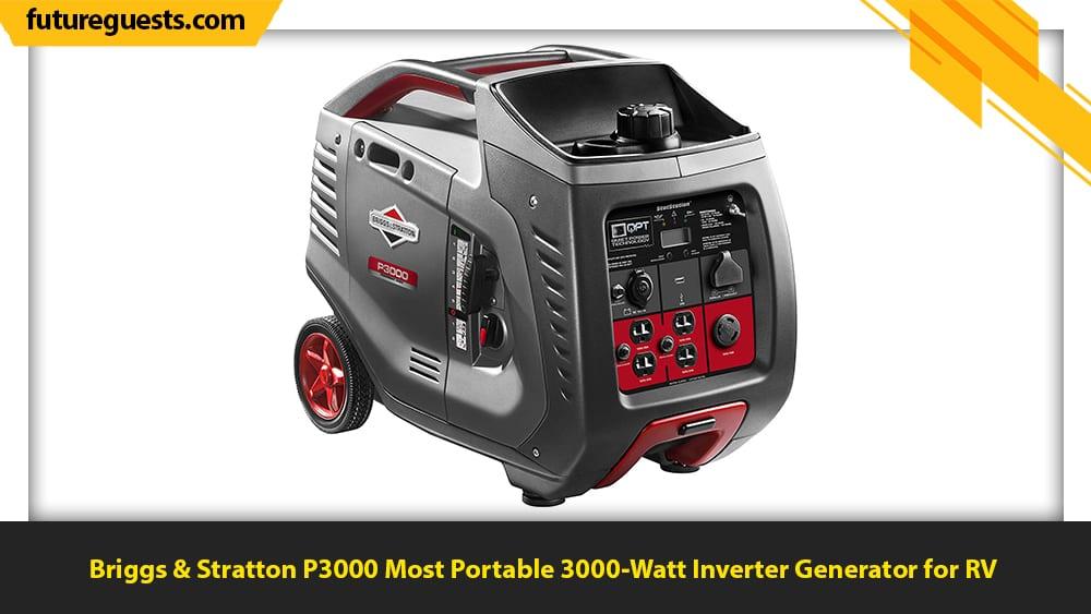 Best 3000 Watt Inverter Generator Briggs & Stratton P3000