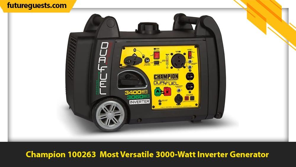 Best 3000 Watt Inverter Generator Champion 100263