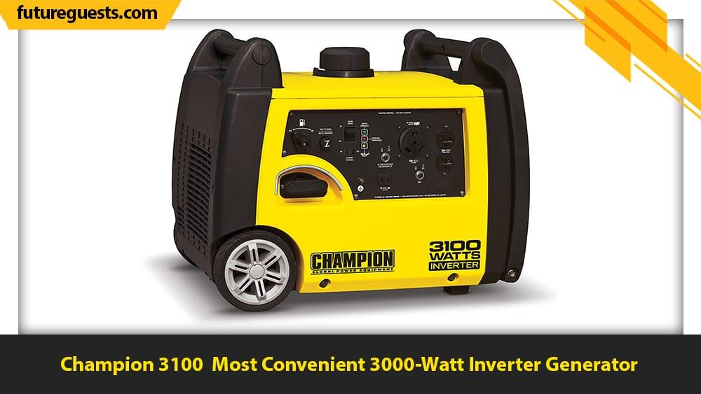 Best 3000 Watt Inverter Generator Champion 3100