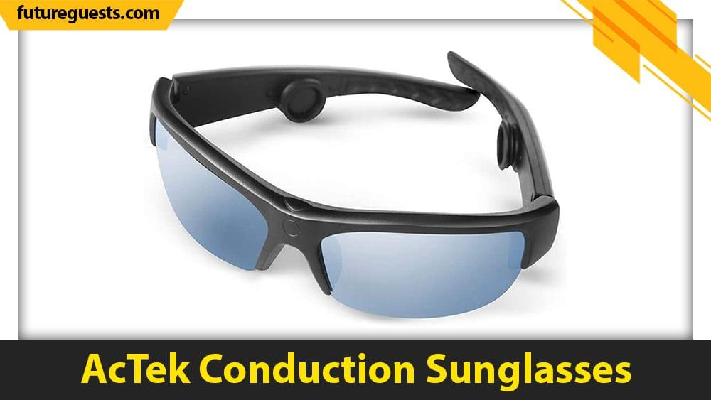 best bone conduction glasses AcTek Conduction Sunglasses
